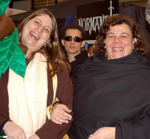 Claudia Bouman e Regina Cavalieri