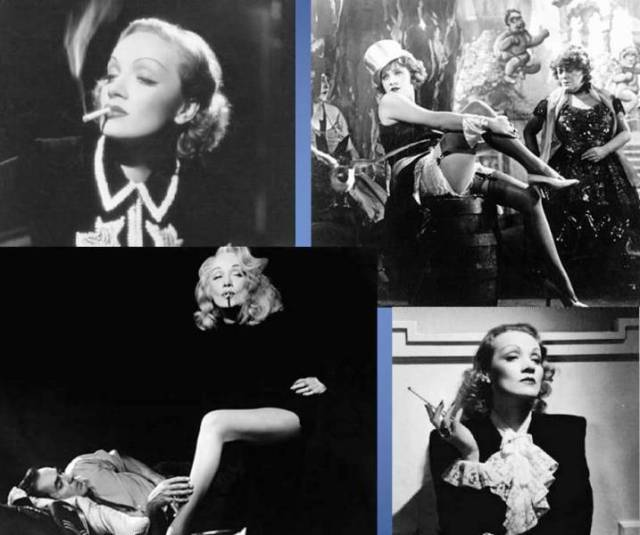 Marlene Dietrich, inesquecível.
