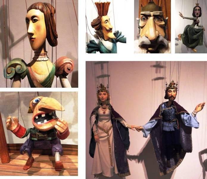Marionetes de Praga Foto Valdo Resende