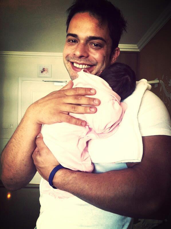 Rafael Mendes com Luiza: um natal pleno!