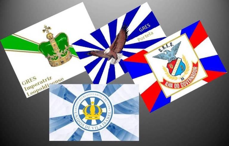 bandeiras das escolas