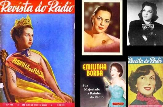 Dalva, Linda, Dircinha, Emilinha e Marlene. As rainhas do rádio.