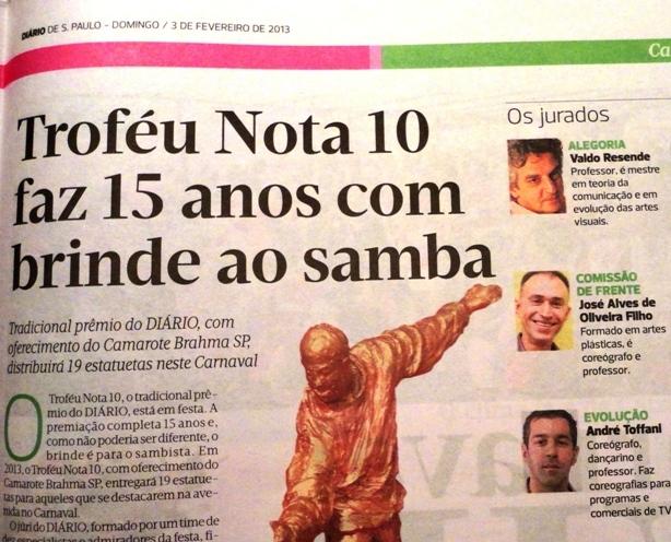 """""""Diário de São"""" de domingo, dia 3 de fevereiro"""