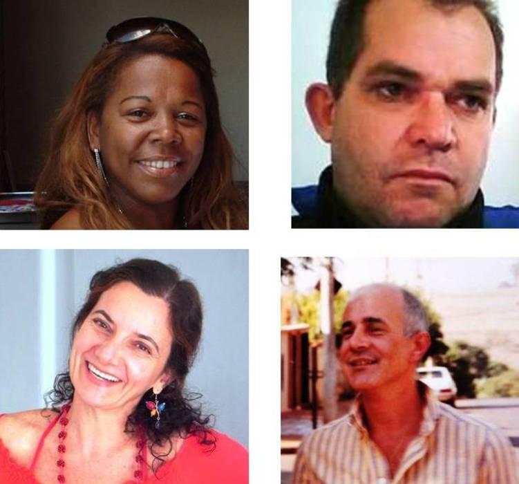 Eulália Cristina Afonso, Alair Celso, Angélica Leutwiller, Nei Rozeira
