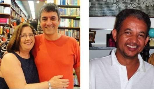 Fátima Borges, Octavio Cariello, Agostinho Hermes dos Reis