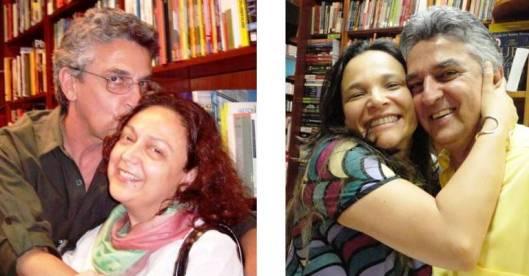 Com Sonia Kavantan e Marise de Chirico