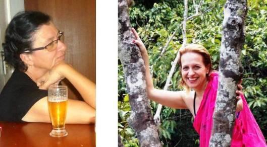 Vania Maria Lourenço Sanches e Márcia Lorenzoni