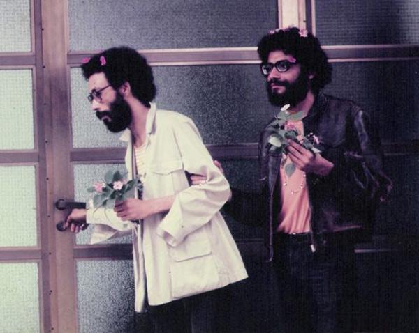 Jards Macalé e Wally Salomão (fonte: site do compositor)