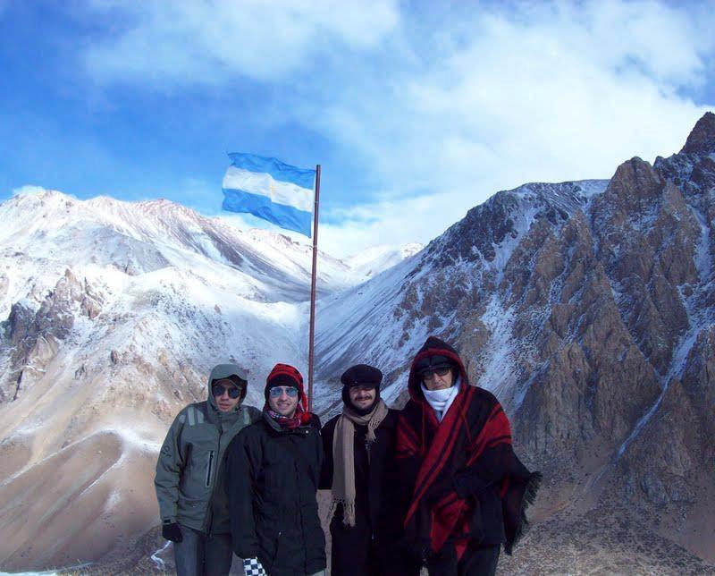 Um dia estivemos nos Andes, hoje sonho com o Everest