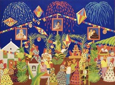 Os santos em destaque na pintura de Djanira