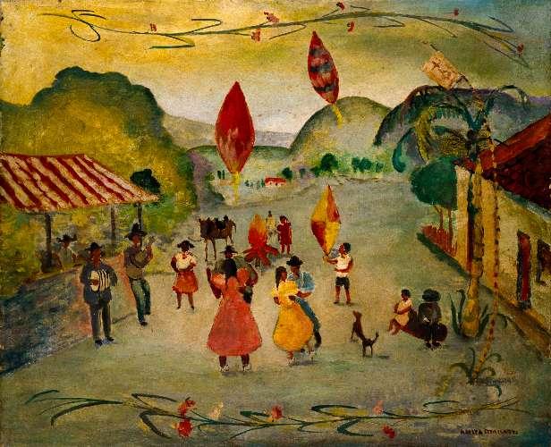 São João, na visão da pintora Anita Malfatti
