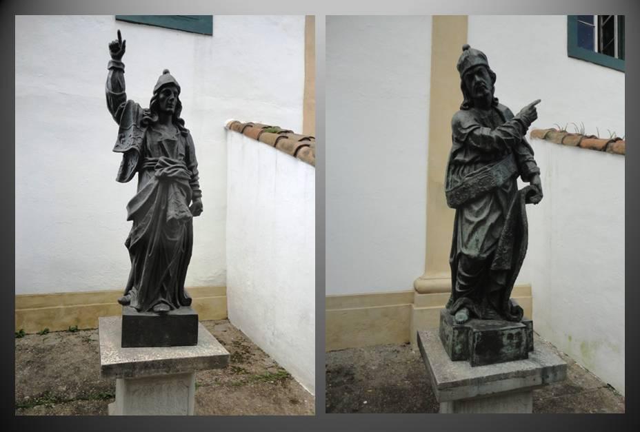 Abdias e Ezequiel, lembrando Minas Gerais.