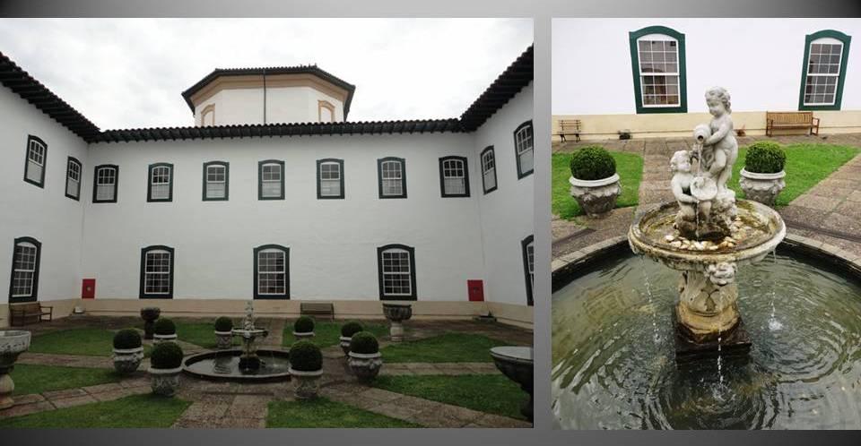 Pátio do Mosteiro da Luz foto by valdo resende