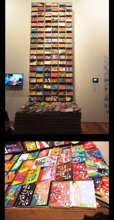 """Exposição """"O Abrigo e o Terreno: arte e sociedade no Brasil""""."""
