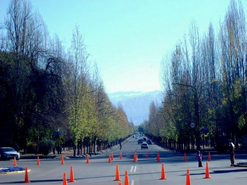 Parque em Mendoza