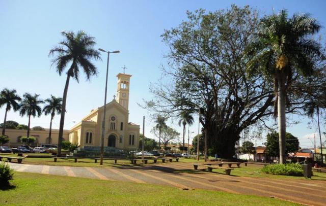 A Matriz de São José, restaurada, é um dos pontos turísticos da cidade