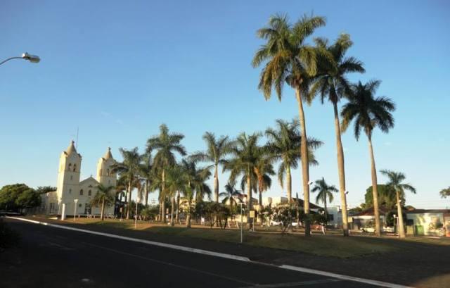 Detalhe da Praça Nicanor Parreira. Arquivo pessoal.
