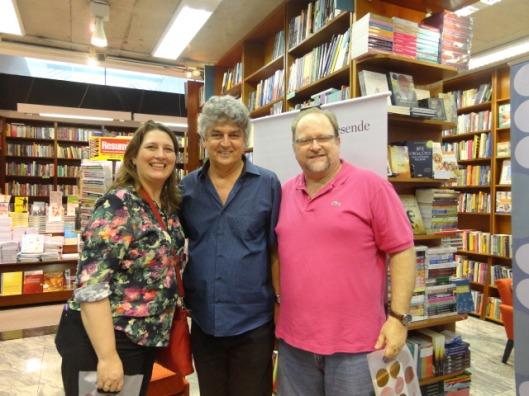 Com Claudia Regina Bouman e Victor Olszenski