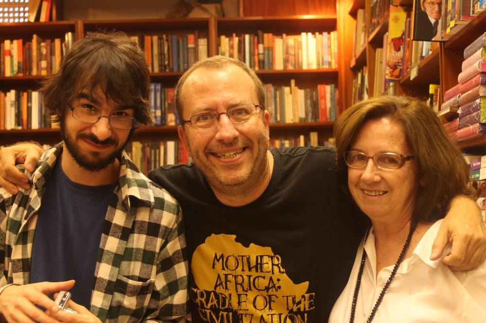 Flávio Monteiro, Fernando Brengel e Fátima Borges