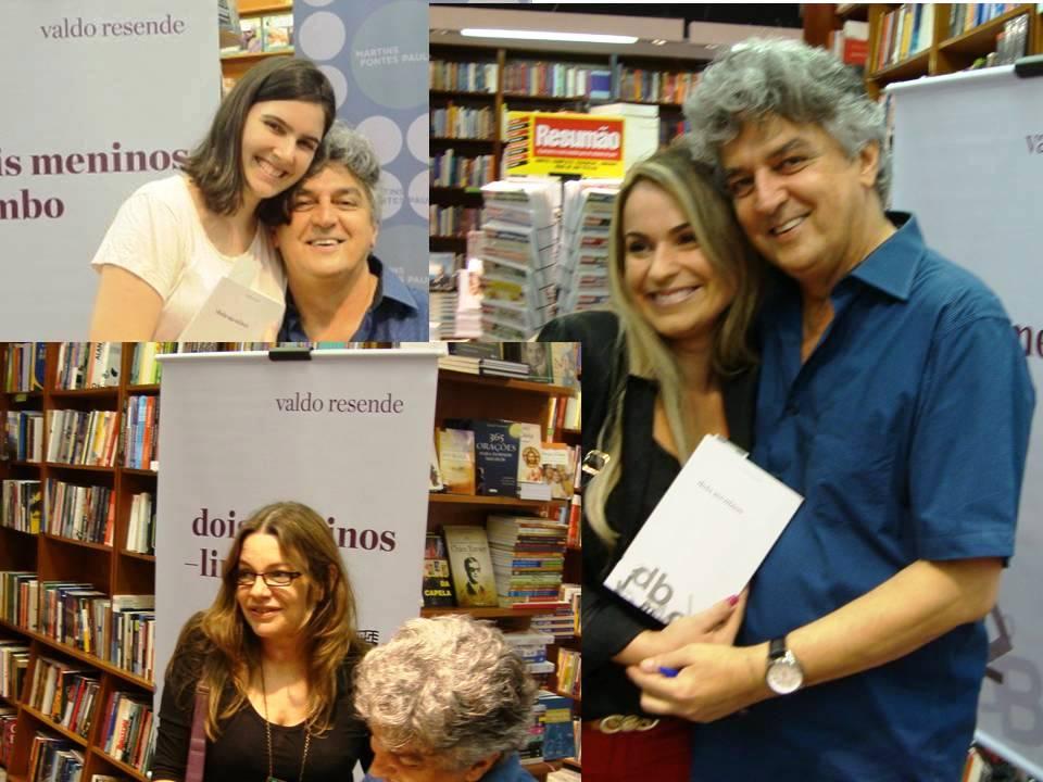 Nina Borges Amaral (acima), Andrea Rezende e Adriana Aguiar Rangel