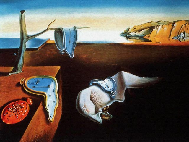 Salvador Dali, a persistência da memória