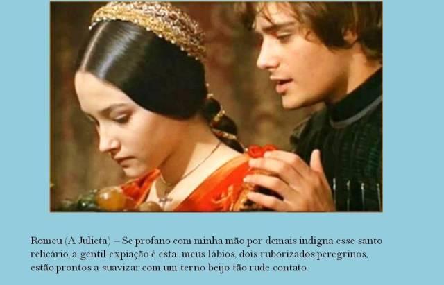 Romeu e Julieta, Encontro dos dois amantes