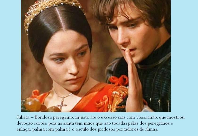 Romeu e Julieta, diálogo das mãos