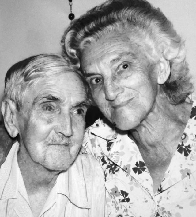 José e Maria, meus inesquecíveis avós.