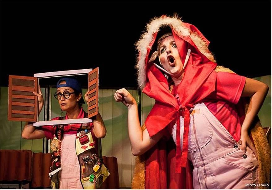 """A peça """"Os 3 Porquinhos"""" da Cia Le Plat du Jour estará em Cubatão no dia 1 de novembro. A peça """"Os 3 Porquinhos"""" da Cia Le Plat du Jour estará em Cubatão no dia 1 de novembro."""