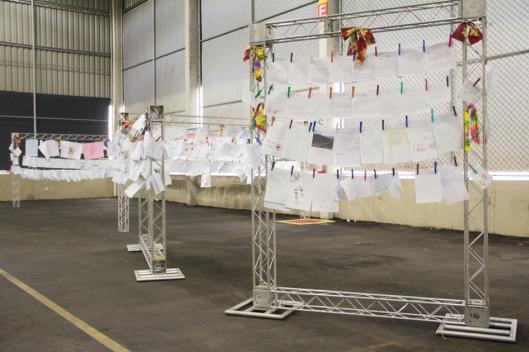 Os trabalhos dos alunods das cinco cidades foram expostos durante a Mostra Teatral. Foto: Bruna Quevedo (Just Design).