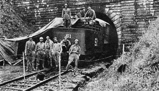 o túnel da mantiqueira e a revolução de 1932
