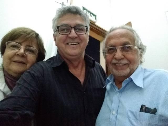 Walcenis, eu e João
